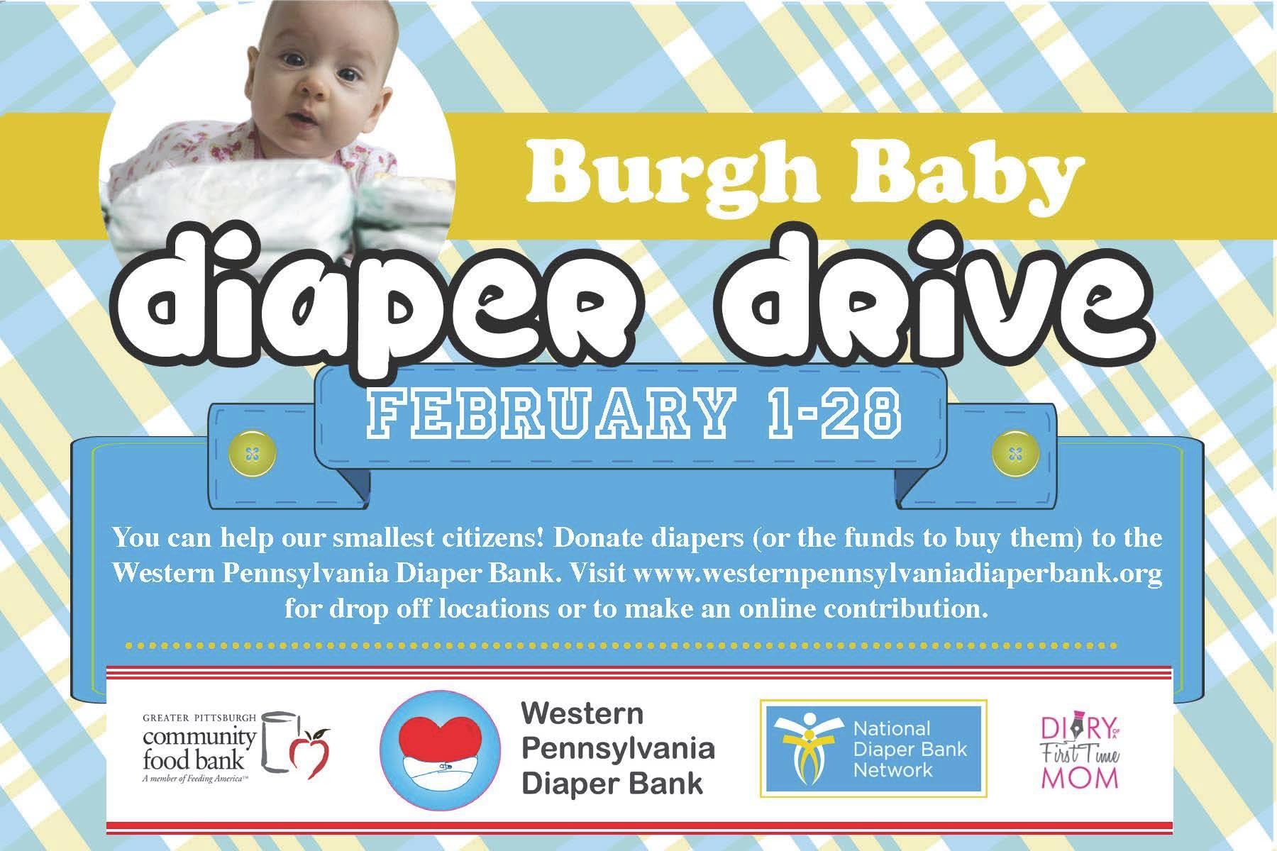 Burgh Baby Diaper Drive