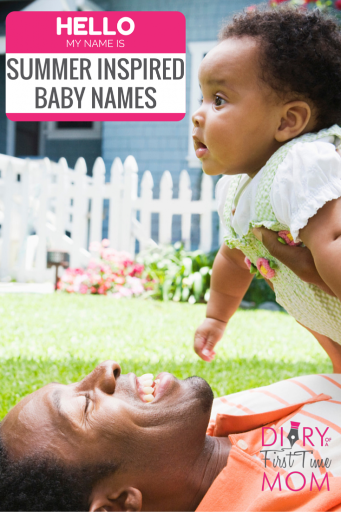 Summer Inspired Baby Names