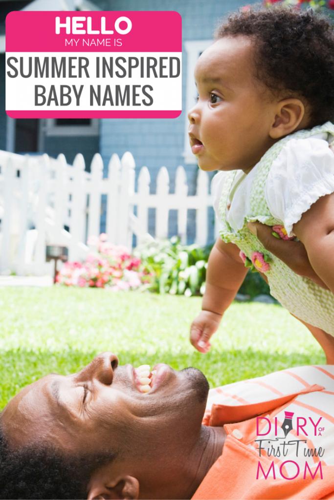 Summer Inspired Baby Names