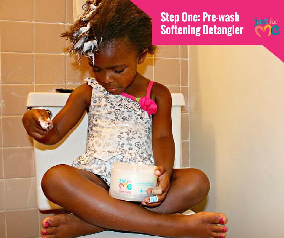 Pre-Wash Softening Detangler