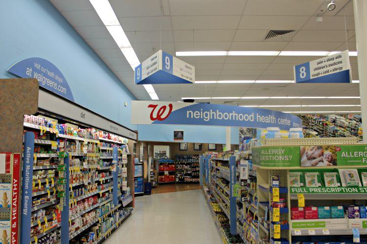 Walgreen's Vitamin Aisle